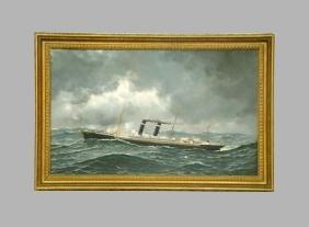 Antonio Jacobsen Philadelphia Painting Christies