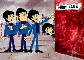 "Ltd Ed. Sericel THE BEATLES ""Penny Lane"""