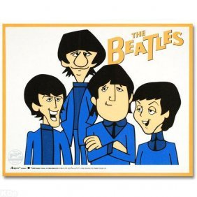 Ltd. Ed. Animation Sericel, The Beatles - The Beat