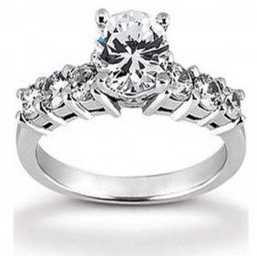 1.31 Cts Diamond 14k Designer Engagement Ring $15,600
