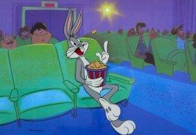 Warner Bros Bugs Bunny At The Movies Sericel