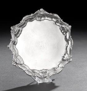 George II Sterling Silver Waiter