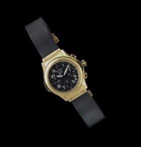 Hublot Men's 18 Kt. Yellow Gold Chronograph Watch