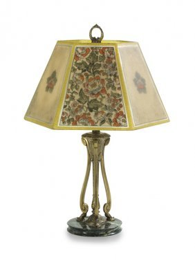 Directoire Table Lamp, Attributed To Pairpoint