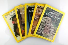 5 National Geographics With Archaeological Interest.