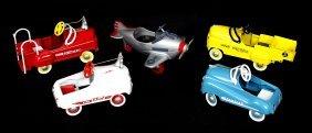 5 Kiddie Car Classics By Hallmark