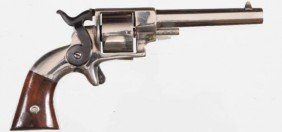Unknown Side Hammer Revolver .32rf Serial # NSN Replate