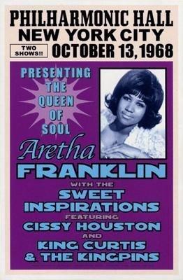 Anon : Aretha Franklin, NYC, 1968
