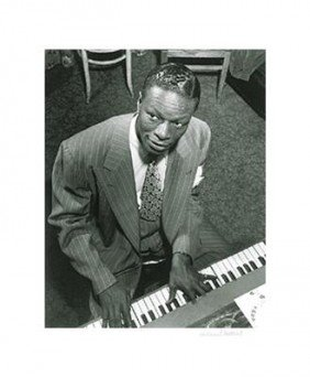 William Gottlieb Signed Art Print -Nat King Cole