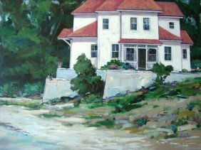 The Villa Original Acrylic By Baker