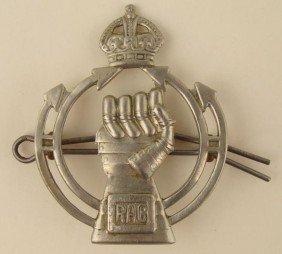 WWII BRITISH RAC/ROYAL AIR CORPS PILOTS REG BADGE