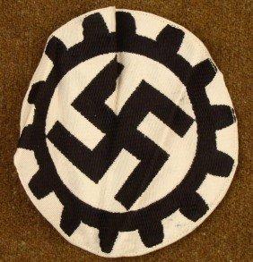 NAZI DAF/DEUTSCHE ARBEITS FRONT CENTER DISC FOR PENNANT