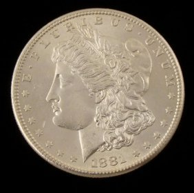 Gem UNC 1881-S Morgan Silver Dollar -It S A Beauty