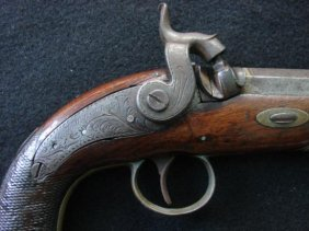 Fine Hollis And Sons Derringer Or ~gentleman's Pistol~