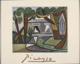 Pablo Picasso : Le Vert Egalant House Art Print