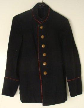 WWII Nazi German Black Uniform Coat Extra Fein Buttons