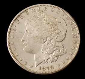 1878-S UNC Morgan Silver Dollar