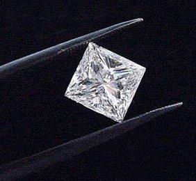 8 Carat Princess Cut VVS1 Color H BIANCO Diamonde