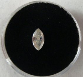 .46 Carat Yellow Diamond I-2 Clarity Marquise Shape