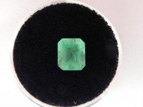 1.79 Carat Bright Glowing Green Emerald Gemstone