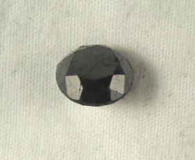 2.80 Carat Loose Black Diamond Opaque-A! Clarity