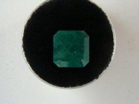 5.13 Carat Bright Glowing Green Emerald Gemstone