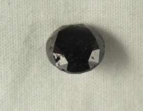3.10 Carat Opaque Clarity Black Loose Diamind