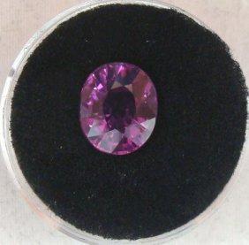 5.70 Carat Purple VVS Clarity Sapphire Gemstone