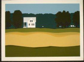Steve Horan Signed Art Print Michigan House 1976