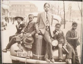 Chicago Boys Sunday Best 1941 Reprint Art Anon