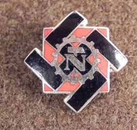 RARE NAZI TENO ASSOCIATION MEMBERS BADGE