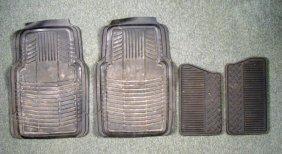 Full Set Of 4 Rubber Car Floor Mats For Chevy Trucks