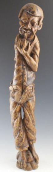 ET0503120058 AMERICAN FOLK ART CARVED ROOT FIGURE
