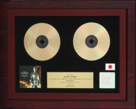 MICHAEL JACKSON RECORD AWARD