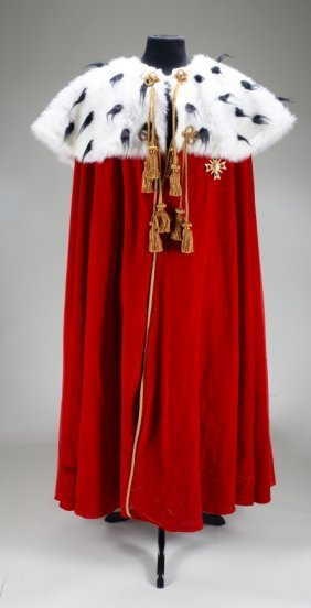 MICHAEL JACKSON COSTUME CAPE