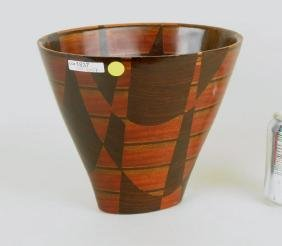 Peter Petrochko Laminated Wood Vessel