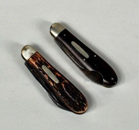 Two Holley Pocket Knives