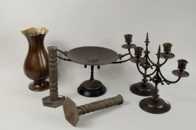Tiffany & Co. Classical Bronze Tazza, Metal Wares