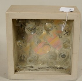 "Mary Baurmeister ""Col-our"" Mixed Media Sculpture"