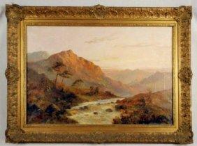 "Francis E. Jamieson ""Scottish Landscape"" O/C"
