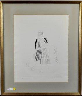 David Hockney Etching & Aquatint 62/100