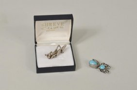 Two Sterling Silver Jewelry Items