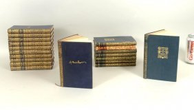 Group G. B. Shaw & H. James Leather Bound Volumes