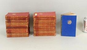 Group Rudyard Kipling Leather Bound Volumes