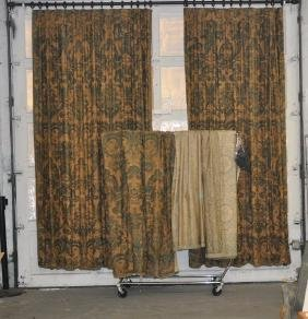 Group Vintage Fortuny Drapes