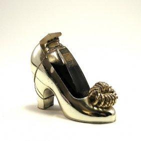 1950s Coty Emeraude Perfume In Shoe