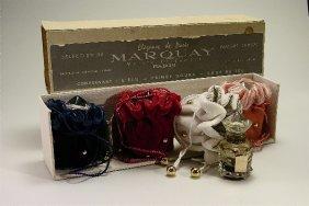 Four 1950s Marquay Perfume Bottles