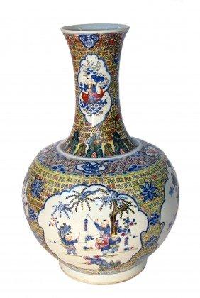 Quing Dynasty Porcelain Vase