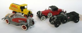 Four Model Vehicles.
