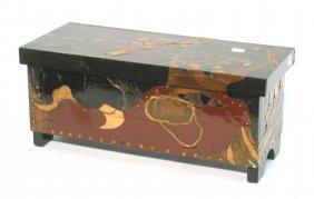 Hand Crafted Art Box.